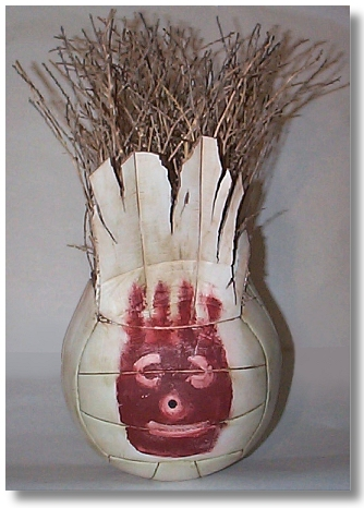 The world's most popular volleyball/imaginary friend: Wilson.