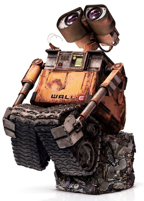 Wall-E ... a dope movie loaded with propaganda concerning what's wrong with our nation and our world.