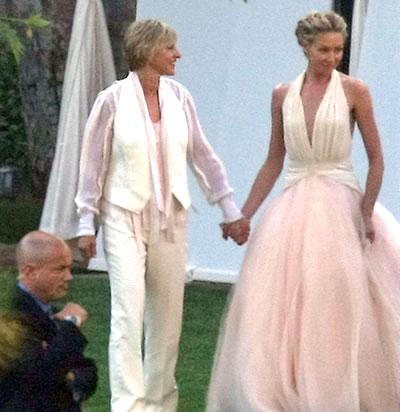 Ellen Degeneres & Portia de Rossi's wedding