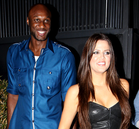 Lamar & Khloe sitting in a tree... and they're getting hitched before you can finish the song.