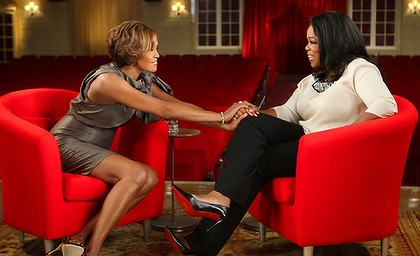 Whitney sits down with Oprah.