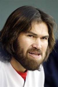 Johnny Damon's caveman/white Jesus look was the overdone costume of 2004. Seriously, women and men got in on the act.